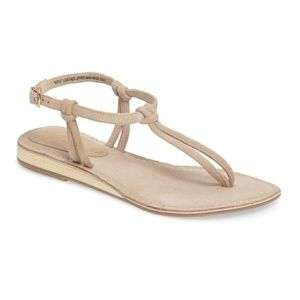 Matisse | Natural Effie Knotted Leather Sandal